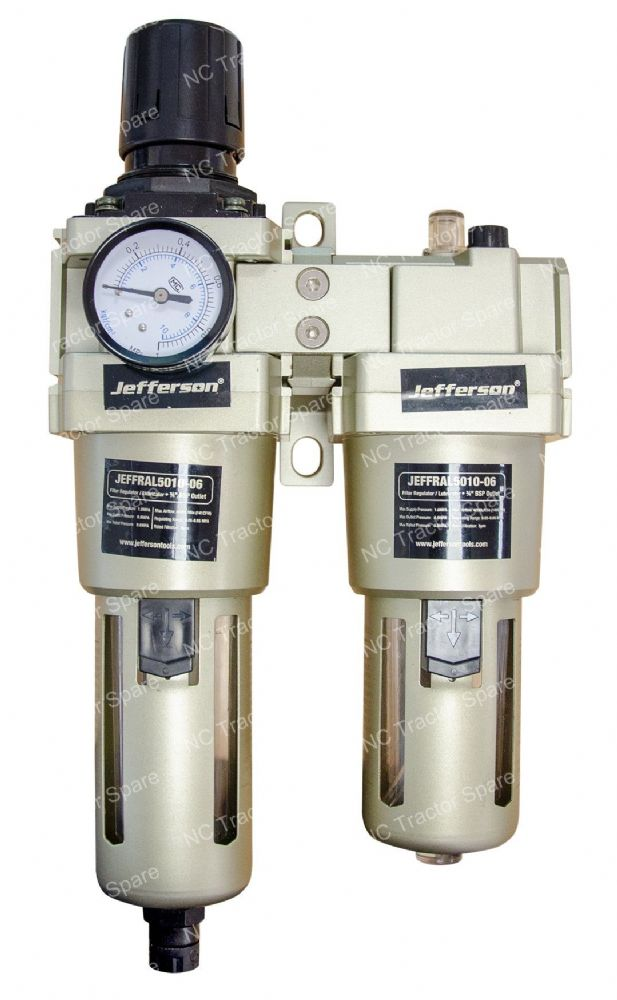 "3/4"" Outlet Filter Regulator / Lubricator"